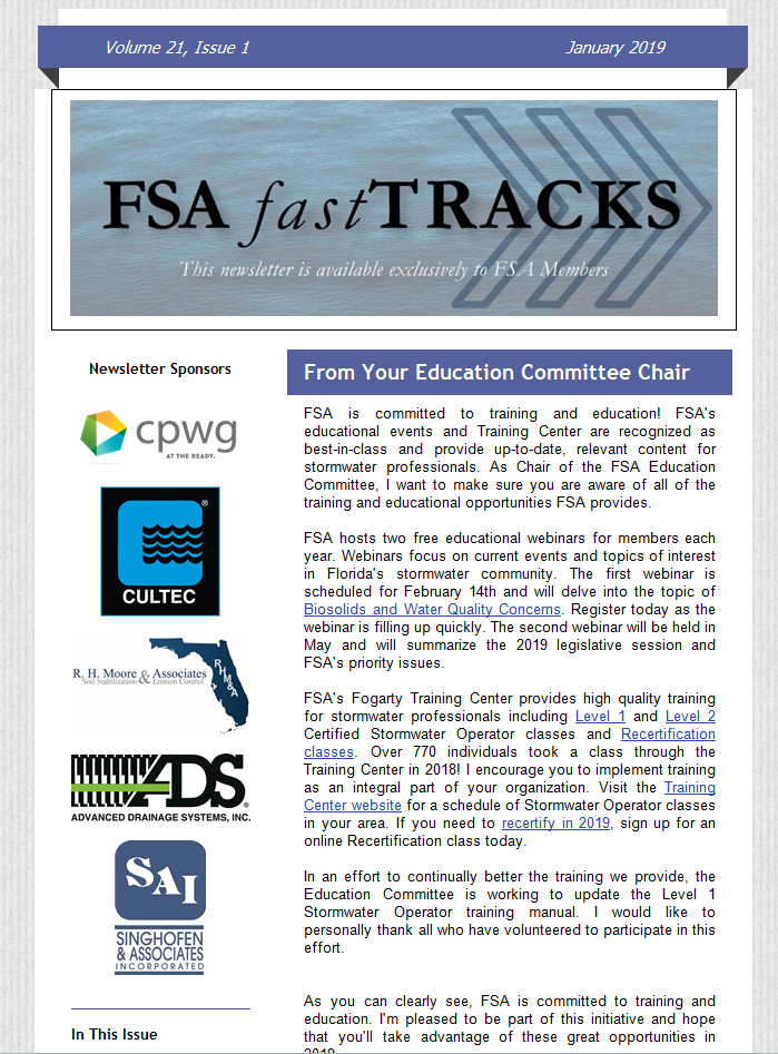 FSA fastTracks